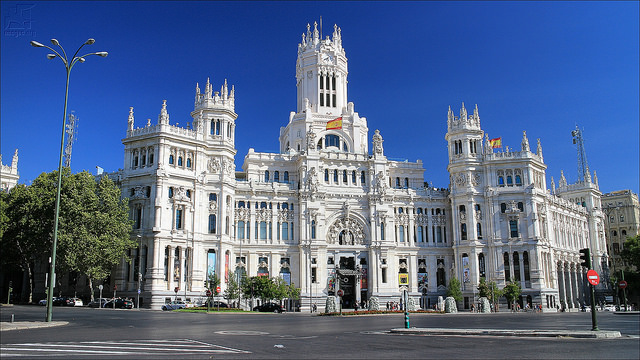 Madrid city picture