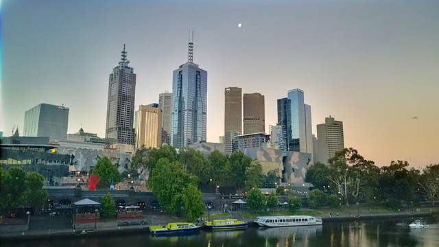 Melbourne city picture