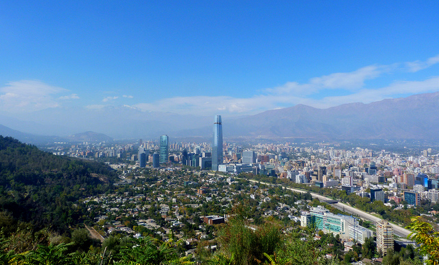 Santiago city picture