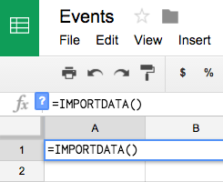 scrape data in Google Sheets
