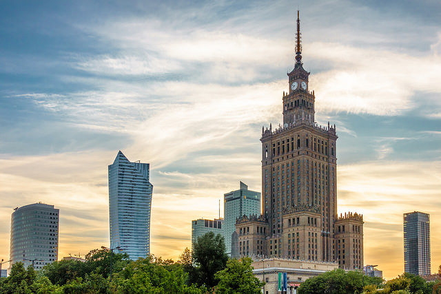 warsaw city picture