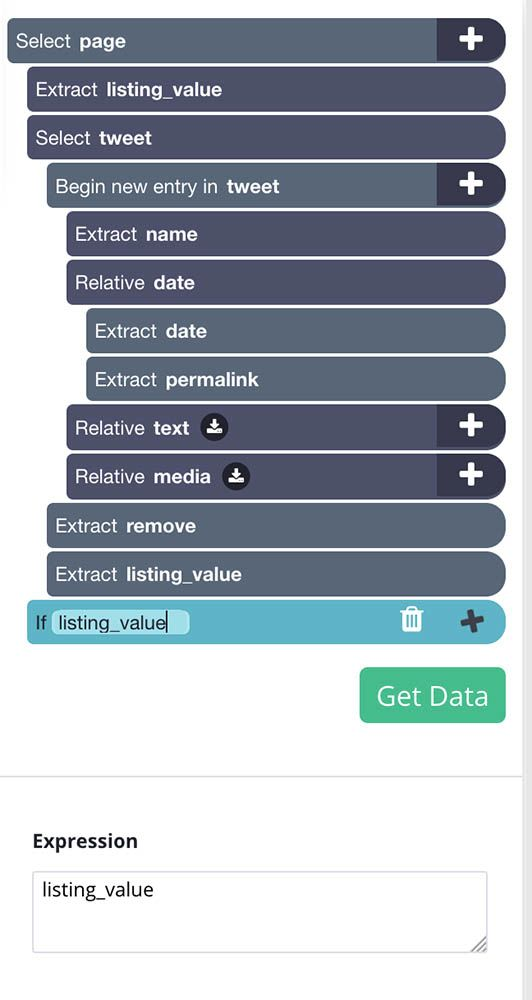 listing value command