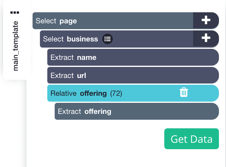 Project Template for Rakuten business directory