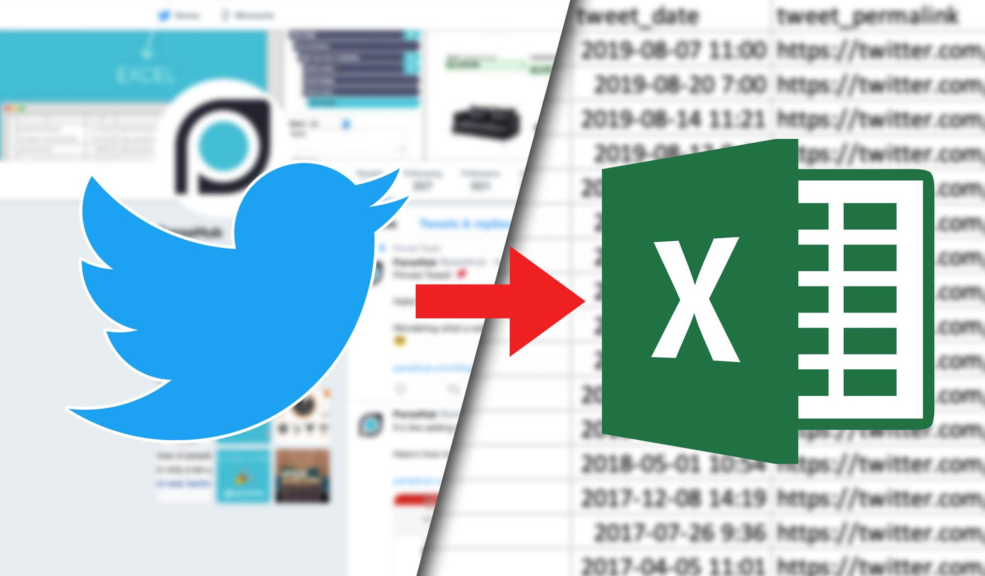 How to Scrape Twitter timelines: Tweets, Permalinks, Dates and more.