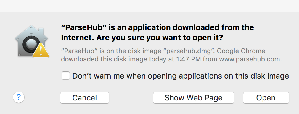 Start web scraping today, download ParseHub